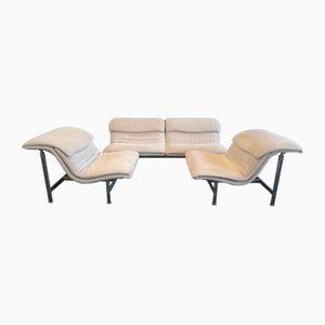 Vintage Living Room Set by Giovanni Offredi for Saporiti