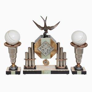 Orologio Art Déco monumentale, anni '30