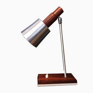 Lámpara de mesa Mid-Century de palisandro de Koch & Lowy para Omi