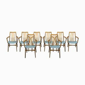 Mid-Century Dining Chairs from Benze, Set of 8