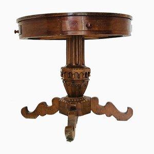 Tavolo da gioco antico con cassetti