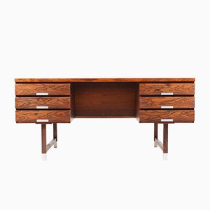 Vintage Freestanding Desk in Rosewood by Kai Kristiansen