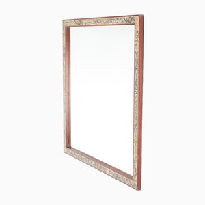 Specchio da parete grande di Severin Hansen per Haslev, anni '60