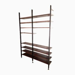 Shelving Unit in Rosewood by George Nelson for Mobilier International, 1970s