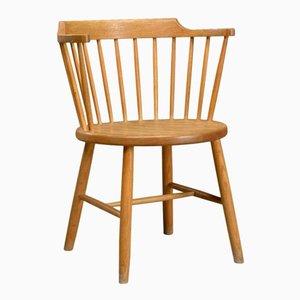 Vintage Modell 3249 Stuhl aus Eichenholz von Børge Mogensen für Fredericia