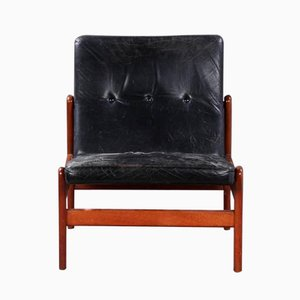 Vintage J-84A Easy Chair by Jorgen Baekmark for FDB Mobler