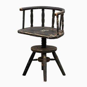 Sedia girevole, Svezia, XVIII secolo