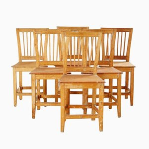 18th Century Swedish Chairs, Set of 4