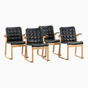 Vintage Esszimmerstühle von Bruno Mathsson, 4er Set