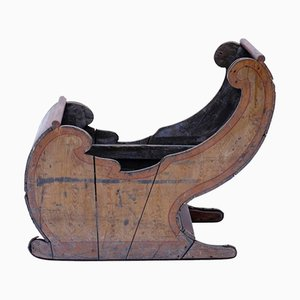 18th Century Dutch Wooden Sled