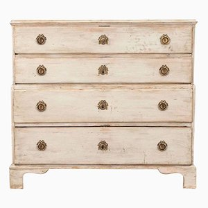 Swedish 18th Century Four-Drawer Chest