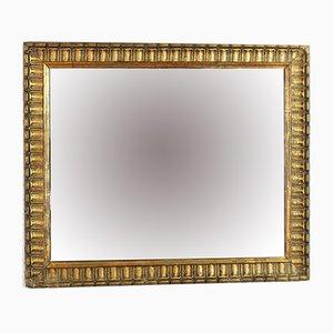 Espejo vintage de estuco dorado