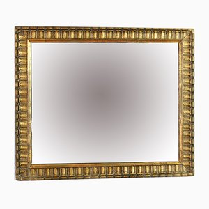 Vintage Golden Stucco Mirror
