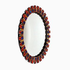 Miroir Courbé avec Cadre Oeil de Sorcière, 1960s