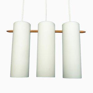 Lampada a sospensione di Uno & Östen Kristiansson per Luxus, anni '60