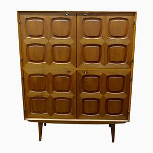 Vintage Teak Highboard by Rastad & Relling for Gustav Bahus
