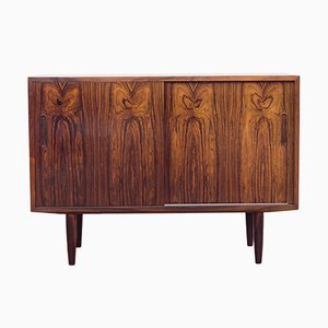 Mid-Century Small Rosewood Sideboard from Hundevad & Co.