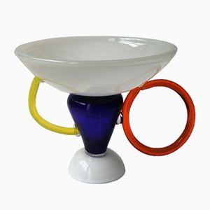 Regolous Bowl by Marco Zanini for Memphis. 1983