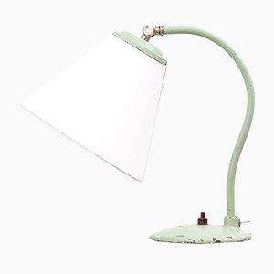 Lámpara de mesa modelo 5228 en verde menta de Oy Taito Ab, años 50
