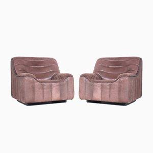 Clib chair modello DS84 di de Sede, anni '70, set di 2