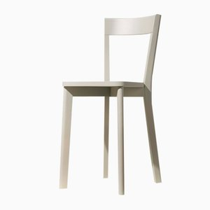 Mina Dining Chair in Grey by Tommaso Caldera for WLegno