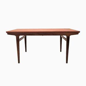 Extendable Teak Dining Table by Johannes Andersen for Uldum Møbelfabrik, 1960s