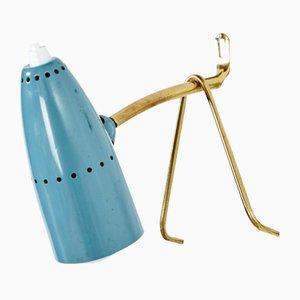 Tischlampe oder Wandlampe von Rupert Nikoll, 1960er
