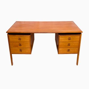 Mid-Century Teak Desk by Arne Vodder, 1960s