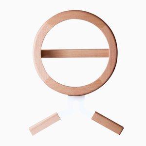 Modo Valet aus weißem Holz und Metall von Artful casacontemporanea
