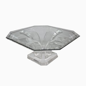 Lucite Coffee Table, 1970s