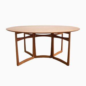 Gateleg Table by Peter Hvidt & Orla Mølgaard-Nielsen for France & Søn, 1950s