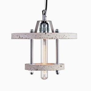 Lampada Levels 2CA in cemento di Adrian Purgal per Galaeria Factory