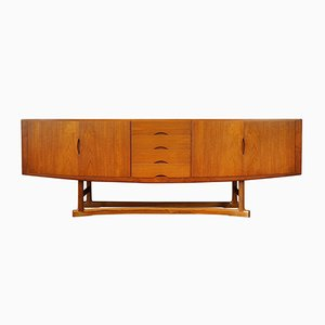 Mid-Century Danish Teak Model HB20 Sideboard by Johannes Andersen for Hans Bech, 1960s