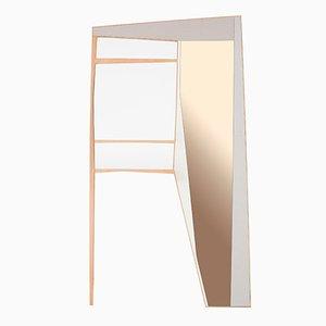 Miroir Mural & Portemanteau Phelie par Kathrin Charlotte Bohr pour Jacobsroom