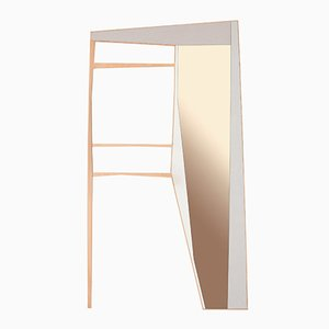 Espejo de pared Phelie y perchero de Kathrin Charlotte Bohr para Jacobsroom
