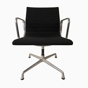 Ea 108 Aluminium Stuhl von Charles Eames für Vitra, 1980er