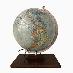 Globe Terrestre avec Éclairage par Dietrich Reimer pour Andrews & Steiner, 1954