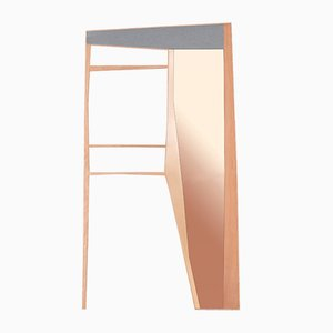 Phelie Wall Mirror & Coat Rack by Kathrin Charlotte Bohr for Jacobsroom