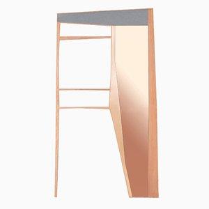 Miroir Mural ou Portemanteau Phelie par Kathrin Charlotte Bohr pour Jacobsroom