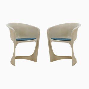 Kunststoff Stühle von Steen Østergaard für Cado, 1970er, 2er Set