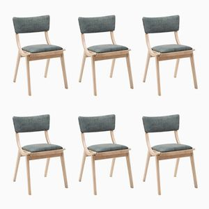 Vintage Side Chairs from Fabryka Mebli Giętych, Set of 6