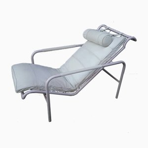 Vintage White Lounge Chair by Gabriele Mucchi for Zanotta
