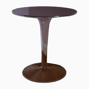 Tavolino Tulip in acrilico trasparente, anni '70