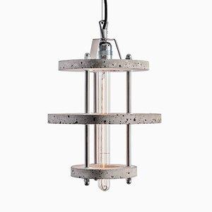 Modell Levels 3BCA Lampe aus grauem Zement von Adrian Purgał