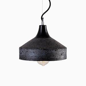 Lampada Vulcano in cemento di Bogumił Gala per Galaeria Factory