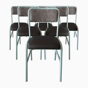 Industrial Side Chairs from Cannone, Set of 6