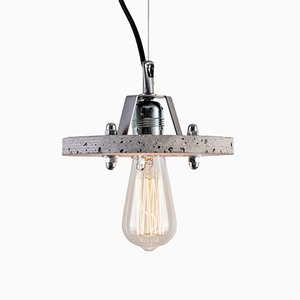 Levels 1B Grey Concrete Lamp by Adrian Purgał for Galaeria