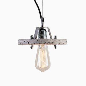 Levels 1B Lampe aus grauem Zement von Adrian Purgał für Adrian Purgał