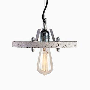 Levels 1C Lampe aus grauem Zement von Adrian Purgał für Galaeria Factory