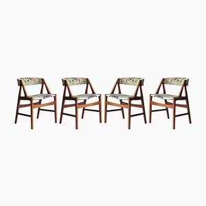 Model 31 Chairs by Kai Kristiansen, 1960s, Set of 4